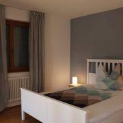 Gemütliche Schlafzimmer im Appartement Turmblick